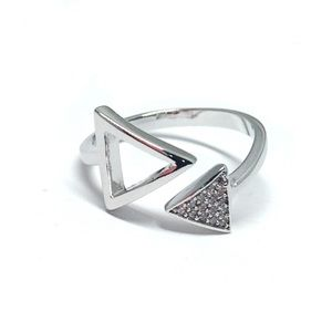 Jewelry - Sterling Silver Cubic Zirconia Ring